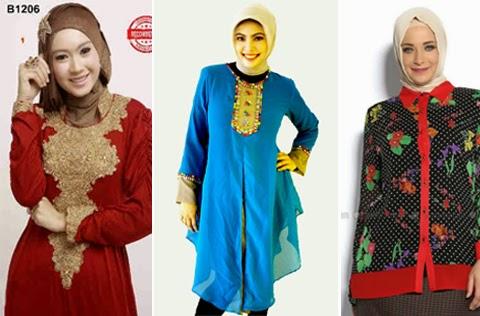 baju lebaran terbaru wanita gemuk