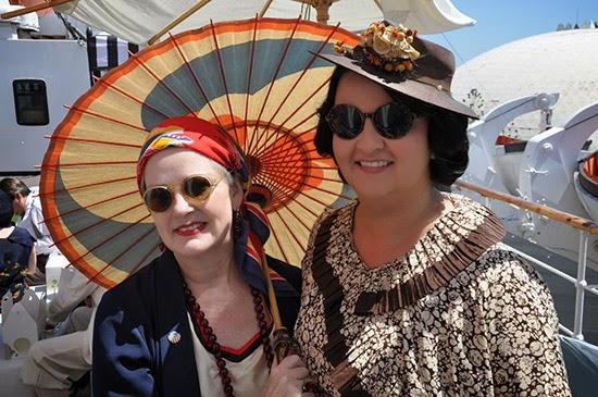 Queen Mary Art Deco Festival 1920s 1930s dress