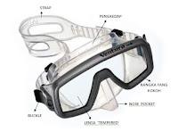 masker snorkeling