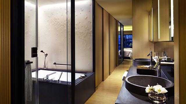 京都麗思卡爾頓酒店 Kyoto Ritz-Carlton Hotel - 浴室