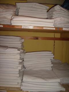 Baldpate Inn sheet closet