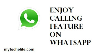 enjoy calling feature on whatsapp