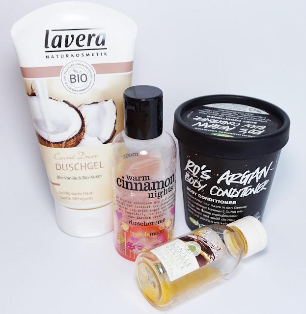 Aufgebrauchte Kosmetik - Februar 2016 Lavera, Yves Rocher LUSH
