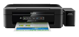 is a multifunction printer that has a high speed when printing inward dark in addition to white or colo EPSON L365 Printer Driver Download
