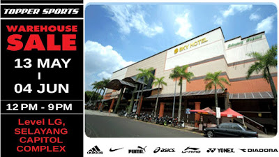 Topper Sports Warehouse Clearance Sale