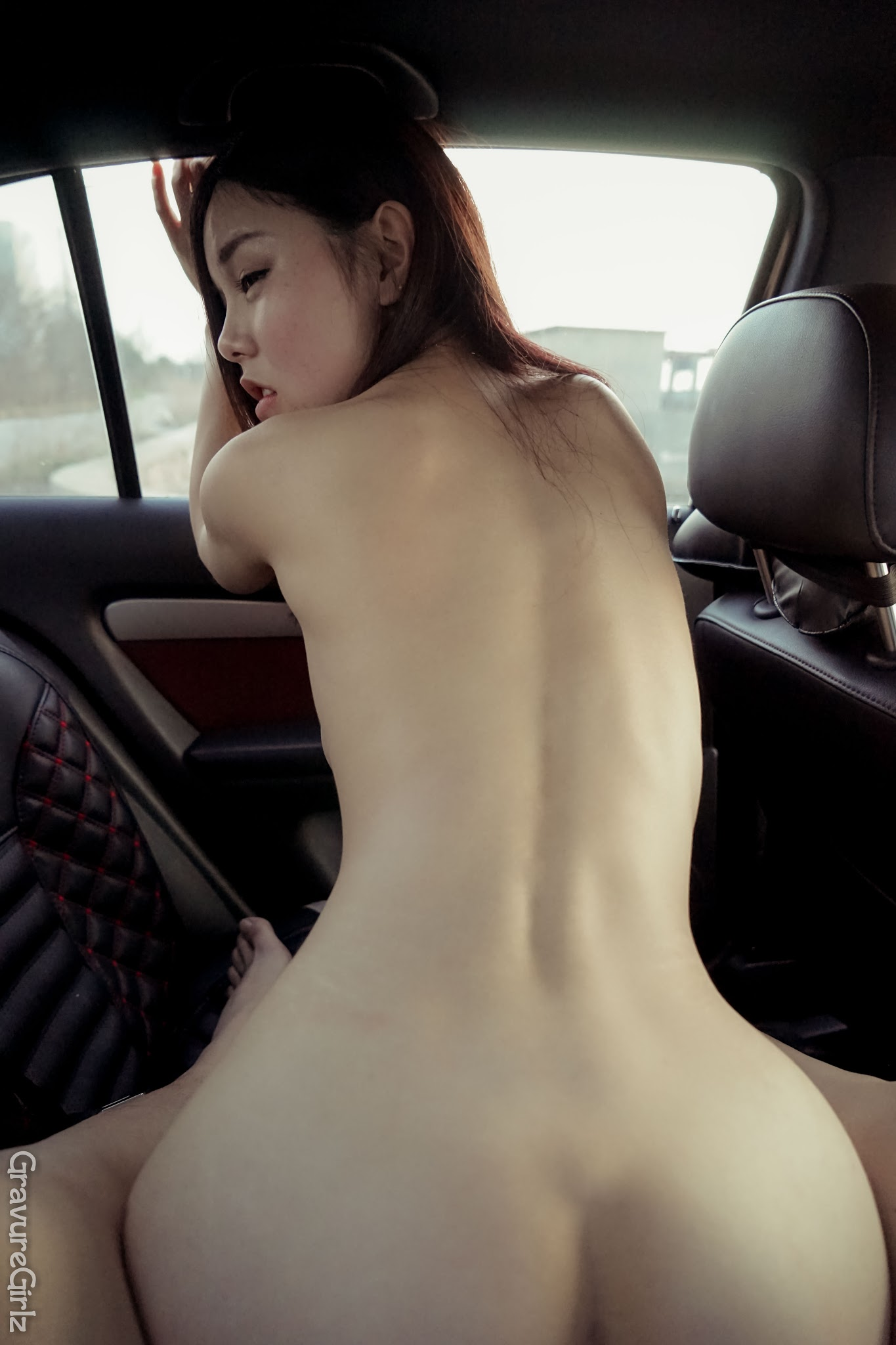Shen Jiaxi 沈佳熹 Nude Sexy Time Inside Car (Original ...
