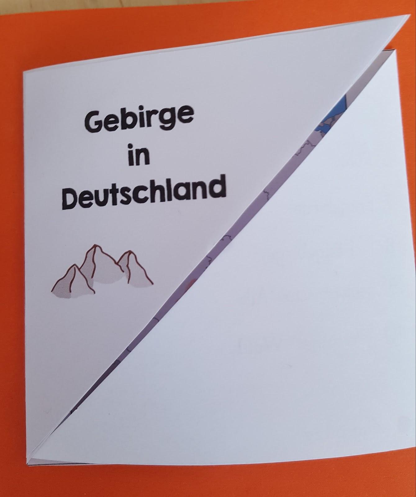 Grundschultante Lapbook Deutschland