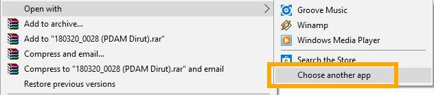 Cara merubah aplikasi pembuka bawaan di Windows 10
