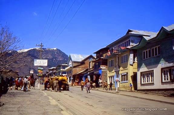 Kashmir indiano, villaggio del Kashmir