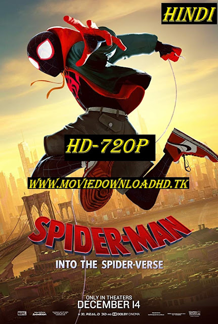 Spider-Man Into the Spider-Verse 2018 Full Movie Download ORG Hindi Dual Audio 720p