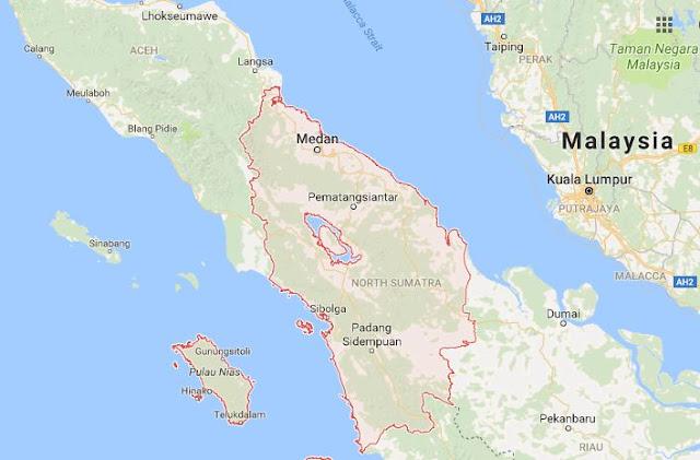 33 Kabupaten di Provinsi Sumatera Utara