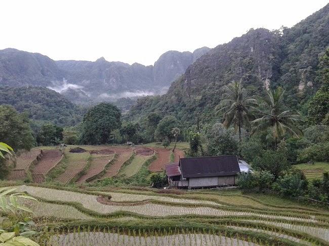 Parorama Alam Kampung Pangkep