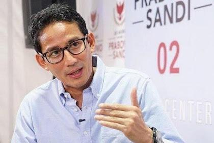 Sandiaga Uno Bisa Kembali Jadi Wagub Jakarta