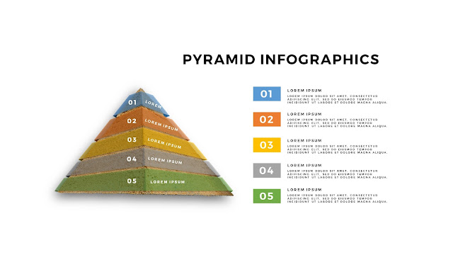 Realistic Pyramid Infographics Free PowerPoint Template Slide 4