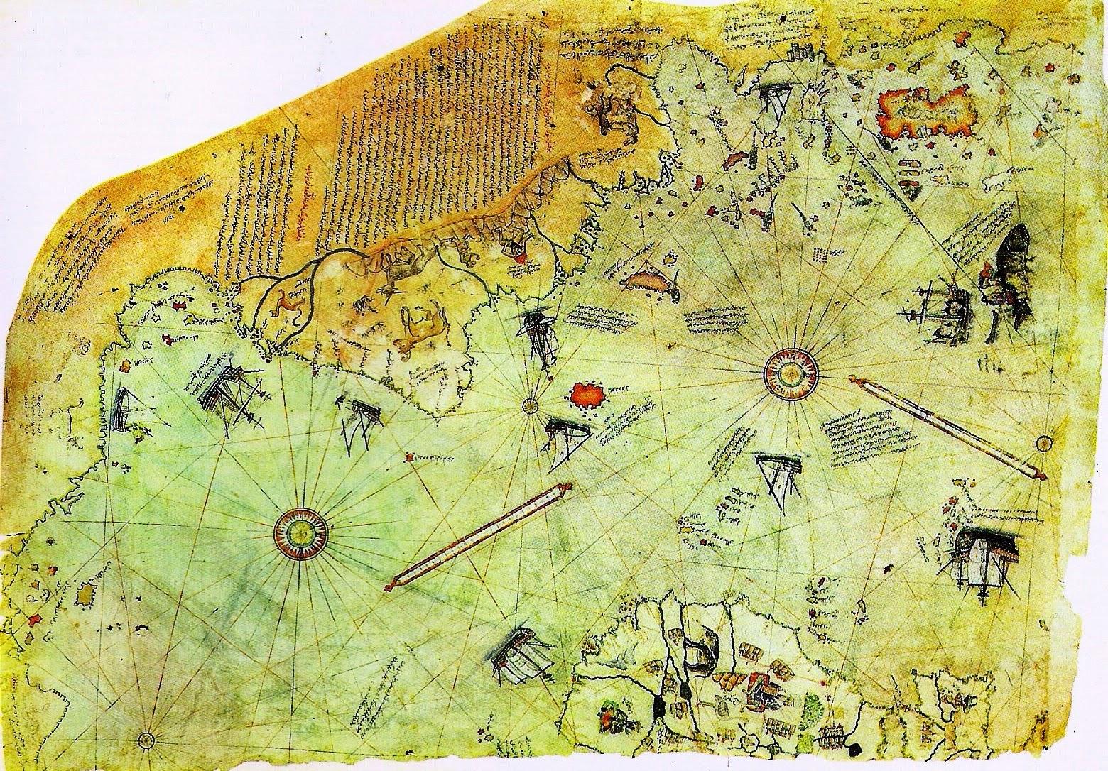 Resultado de imagen para mapa de piri reis completo