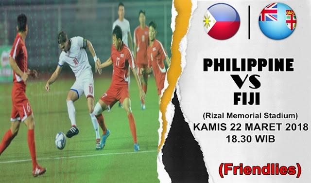 Prediksi Philippines vs Fiji 22 Maret 2018