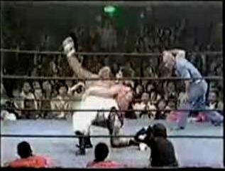 Puroresu Pro Wrestling In Japan Abdullah The Butcher Vs Bill Robinson