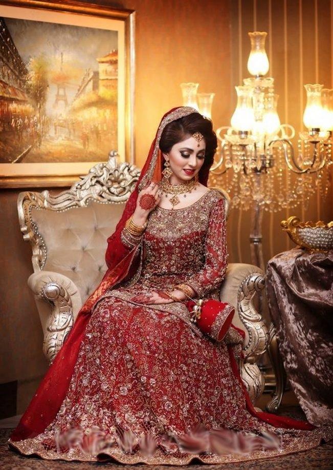 most beautiful bridal lehengas fashion in 2017 - Sari Info