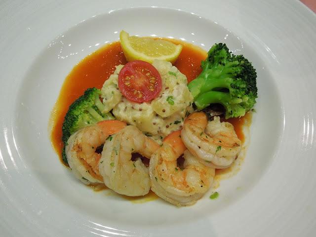 shrimp entree