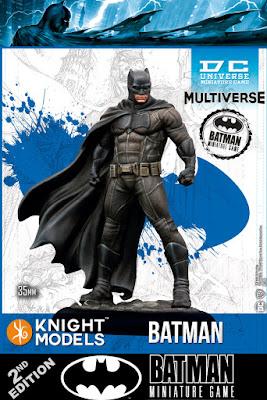 BATMAN MINIATURE GAME 2nd EDITION - DC UNIVERSE MINIATURE GAME
