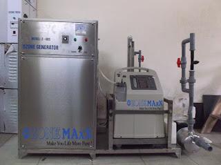 Sử dụng máy ozone công nghiệp để bảo vệ môi trường