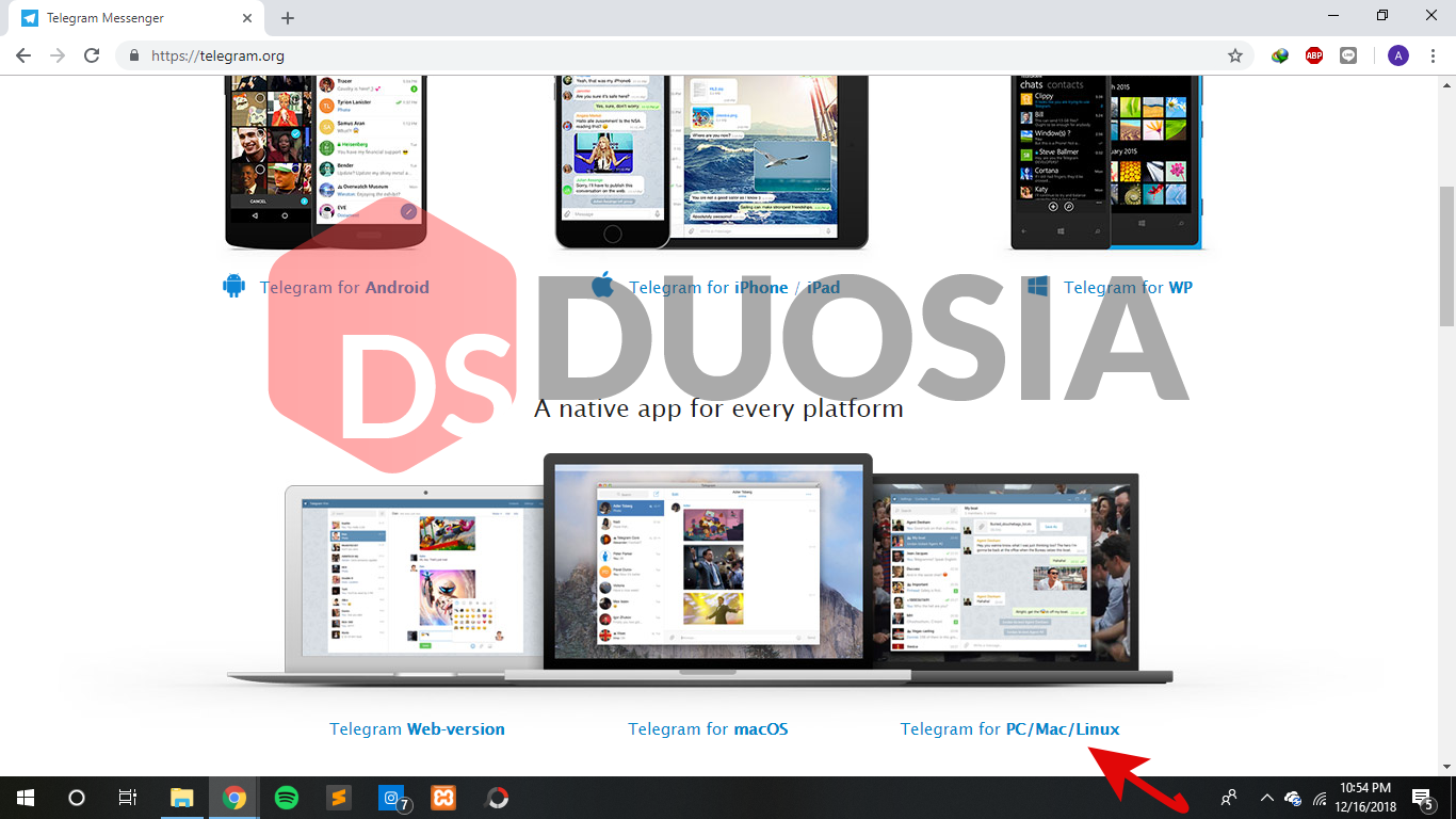 cara download telegram versi pc