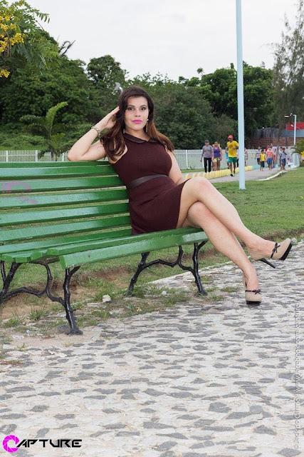 Look Vestido Marrom