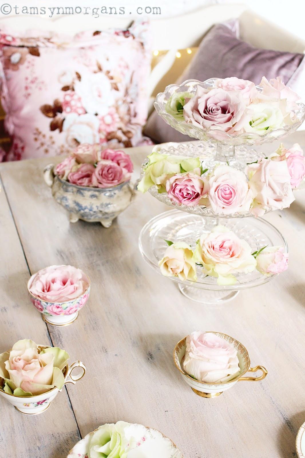 Floral Vintage Tea Party