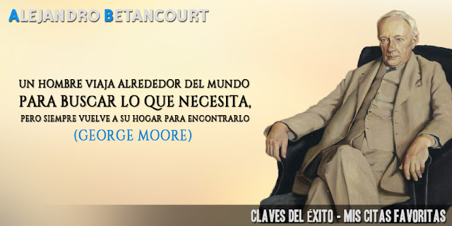 Alejandro Betancourt citas favoritas: George Moore