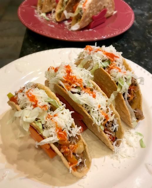 Lamb Picadillo Tacos