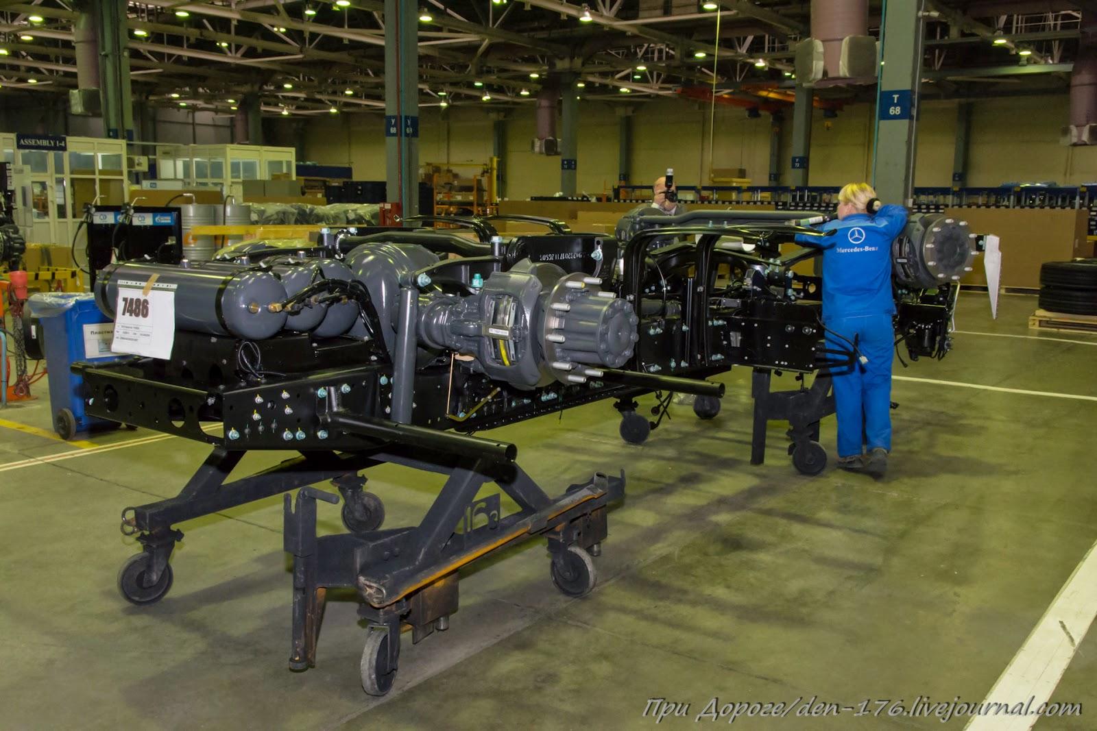 How to make MBTV 05 Mercedes Benz trucks in Naberezhnye Chelny