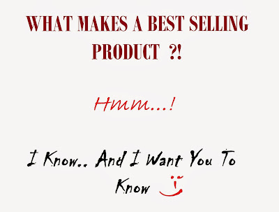 strategy to make best selling products