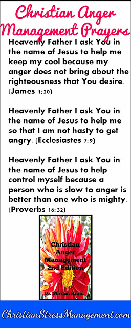 Christian anger management prayers