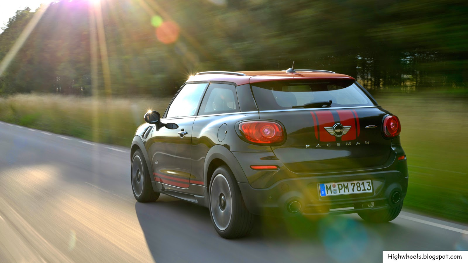 2015 mini paceman john cooper works high wheels. Black Bedroom Furniture Sets. Home Design Ideas