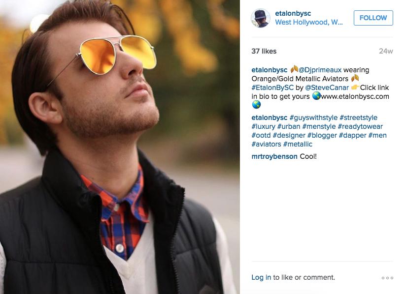 Etalon Instagram