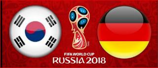 انتهت مباراه المانيا وكوريا الجنوبيه اليوم 27-6-2018 بنتيجه 2 - 0 لصالح كوريا الجنوبيه لتخرج المانيا رسميا من المونديال