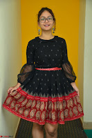 Aditi Myakal in Spicy Red Short Skirt and Transparent Black Top at at Big FM For Promotion of Movie Ami Tumi 086.JPG