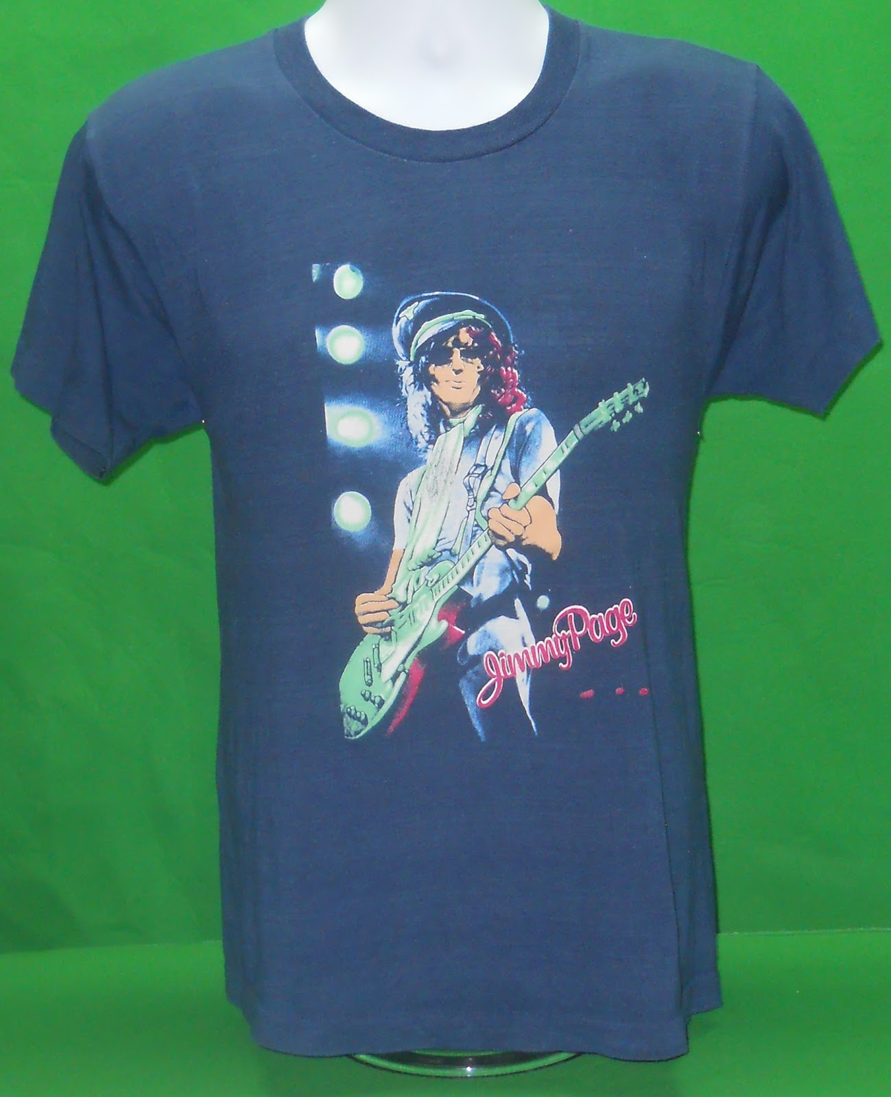 The Voodoo Vintage: 1985 Jimmy Page The Firm Vintage Tee