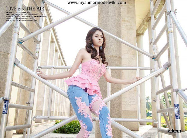 May Sue Maung - Love Is In The Air Photoshoot