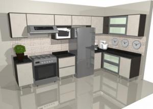 foto armario de cozinha