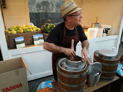 Metodo tradizionale della granita siciliana