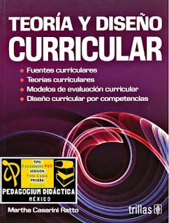 Libro: Teoría y Diseño Curricular