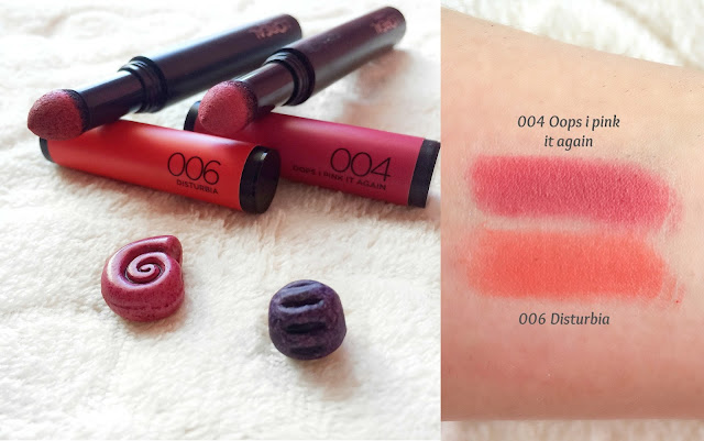 loreal infallible matte max lip laquer swatches