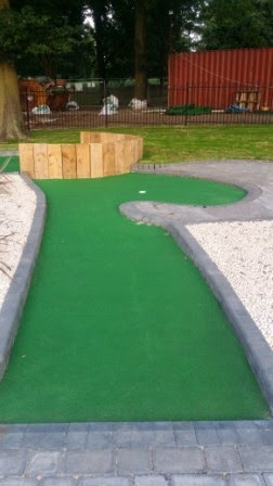 Mini Golf at Cannon Hill Park in Birmingham. Photo by Paul Johnson