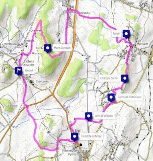 Grand tour du Mont Genezet