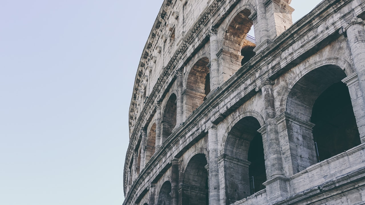 bonito coliseo romano