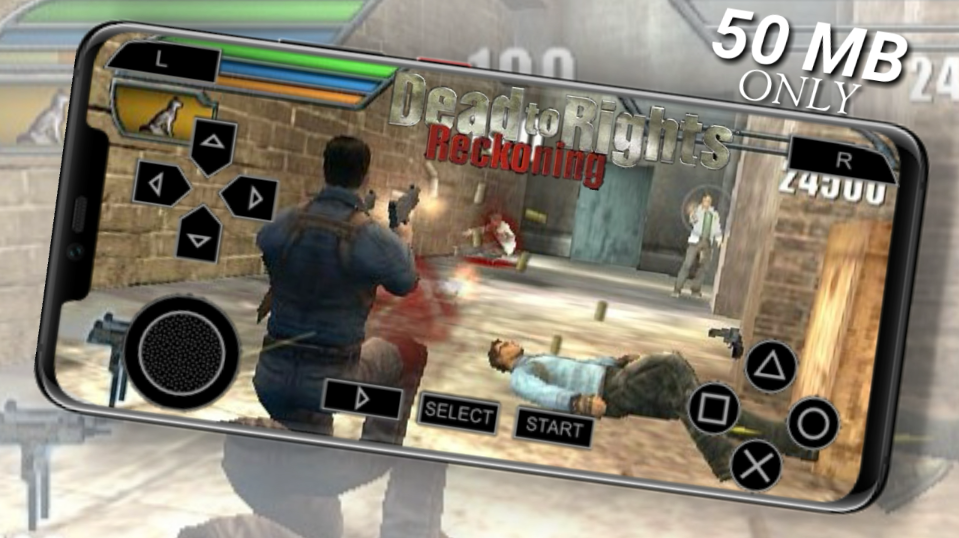 50MB]DEAD TO RIGHTS RECKONING HIGHLY COMPRESSED PPSSPP DOWNLOAD FOR