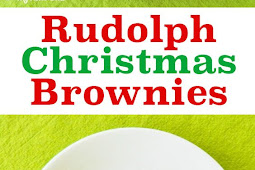 RUDOLPH THE RED NOSE REINDEER BROWNIES