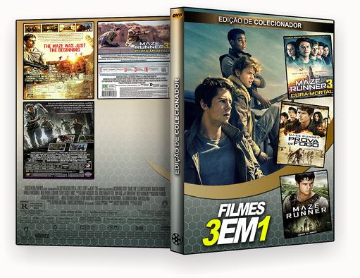 FILMES 3X1 – Trilogia Maze Runner – ISO