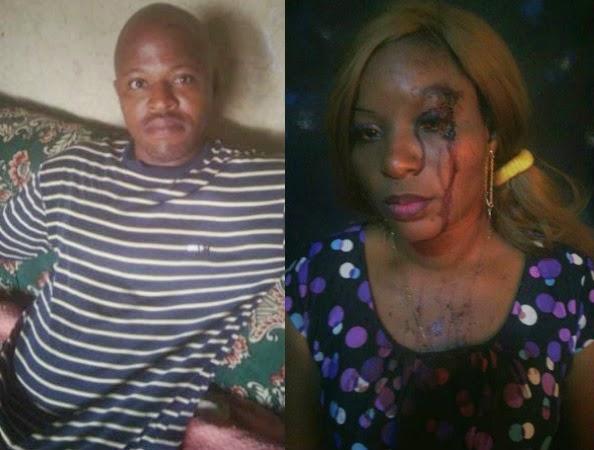 cheating husband beats wife church